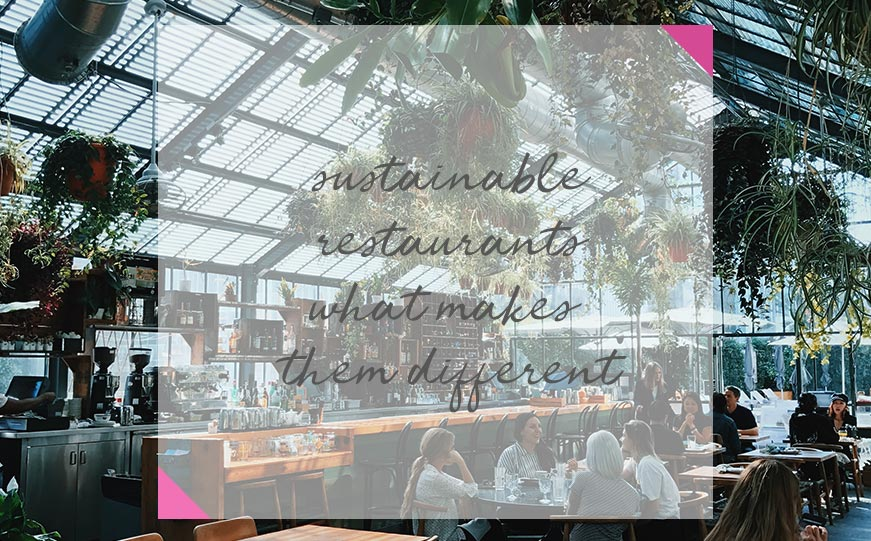 sustainable restaurants