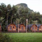 chay lap farm, wood houses