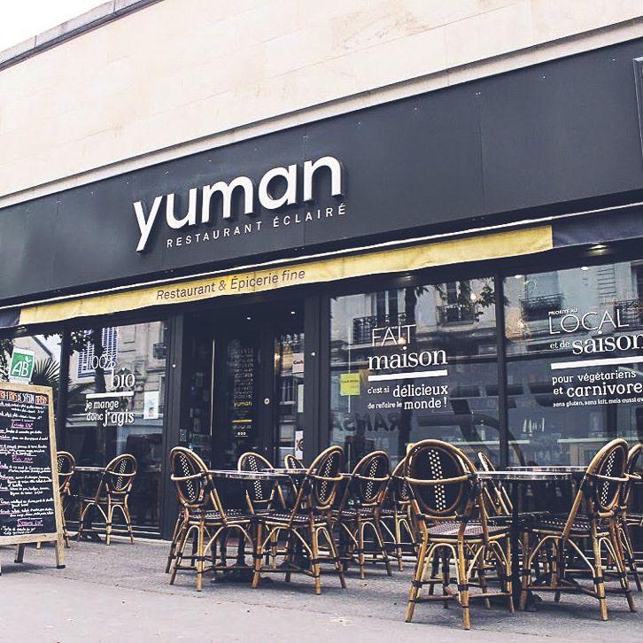 Yuman Organic Restaurant In Paris 13th District