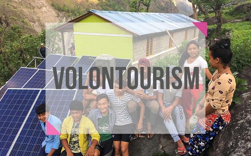 What is volontourism