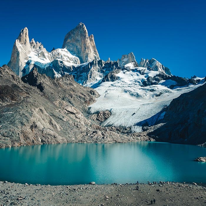 Patagonie Glaciers are melting
